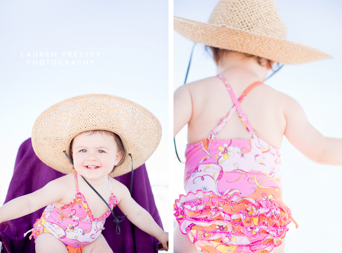 Beach Babe In The Making